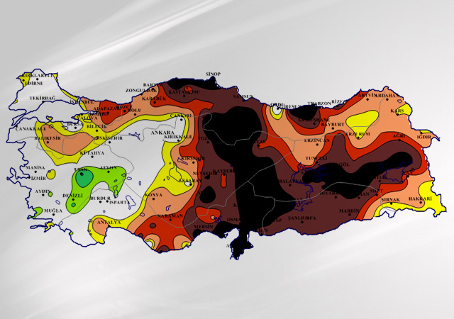 Meteorolojiden korkutan kuraklık haritası!