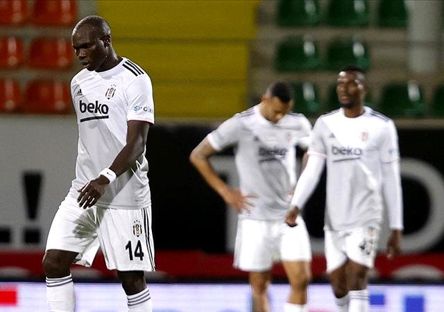 Alanya Beşiktaş'ı Bakasetas'la yıktı! 2-1