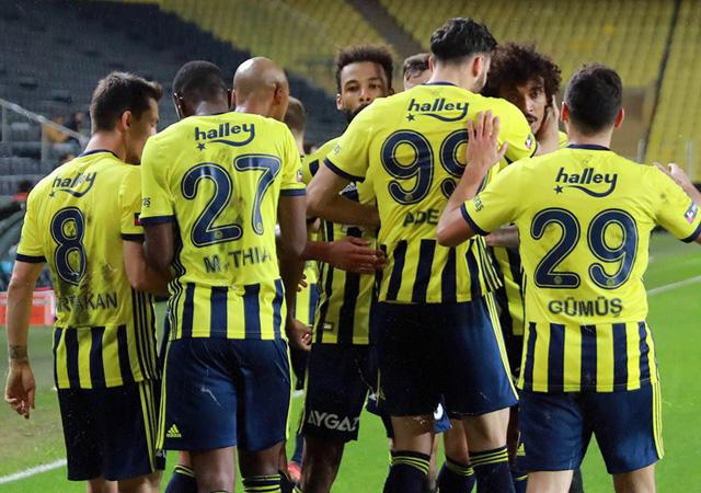 Fenerbahçe farklı kazandı! 4-1