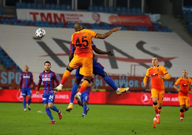 Galatasaray, Trabzon'da rahat kazandı