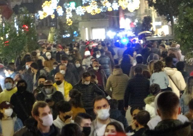Yeni yıla bir gün kala Taksim'de son durum