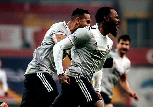 Yeni lider Beşiktaş! 2-0