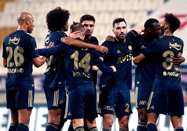 Fenerbahçe, 3 puanı 3 golle aldı