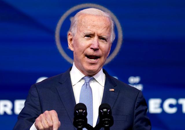 Joe Biden: ABD Kongresini basanlar 'yerli terörist'