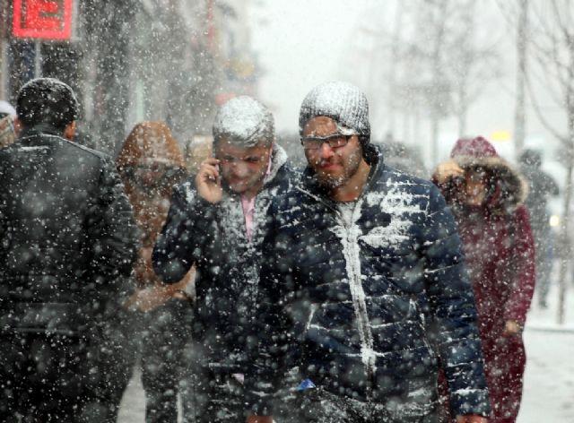 İstanbul'da bu gece yoğun kar yağışı bekleniyor