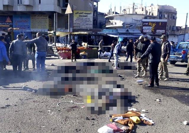 Bağdat'ta art arda patlamalar! Ölü sayısı artıyor