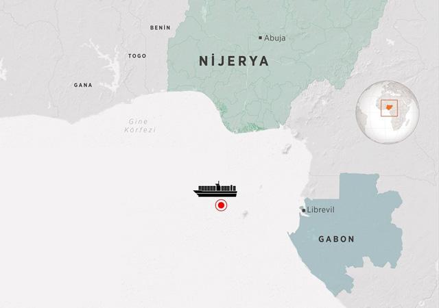 Mevlüt Çavuşoğlu: Gemi, Gabon karasularından limana yaklaşmak üzere