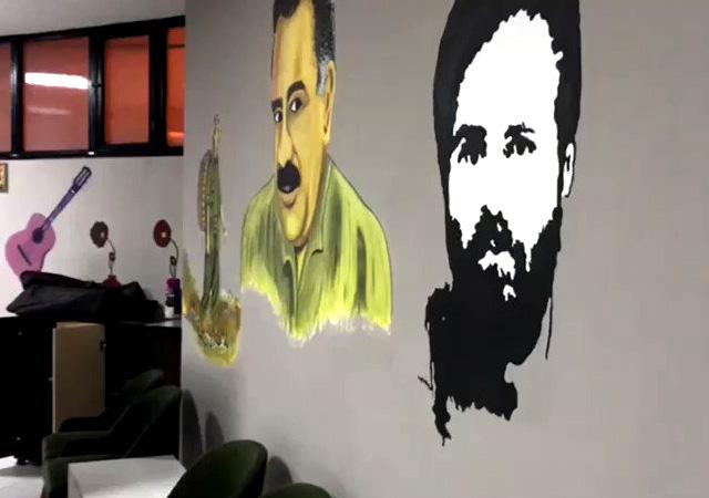 Esenyurt ilçe binasının görüntülerini paylaştı: HDP demek PKK demektir