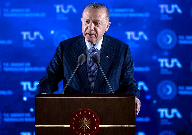 Cumhurbaşkanı Erdoğan: Hedefimiz 2023'te Ay'a gitmek