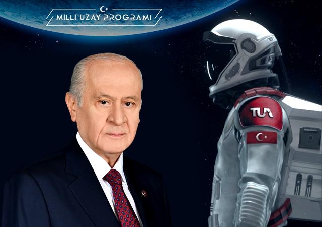 Devlet Bahçeli'den Türk astronot için isim önerisi