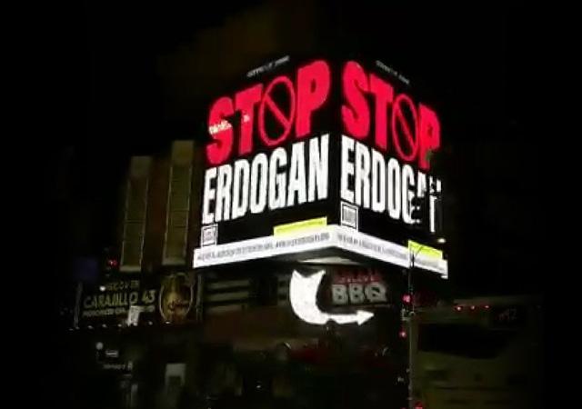 FETÖ'den skandal 'Stop Erdoğan' ilanı!