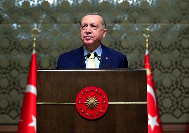 Erdoğan'dan 'Mavi Vatan' mesajı: Haklarımız gasbedilmeye çalışıldı