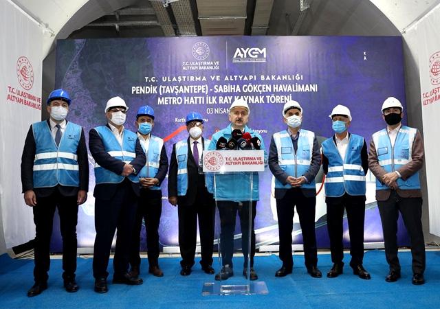 Yeni metro hattının açılış tarihi belli oldu