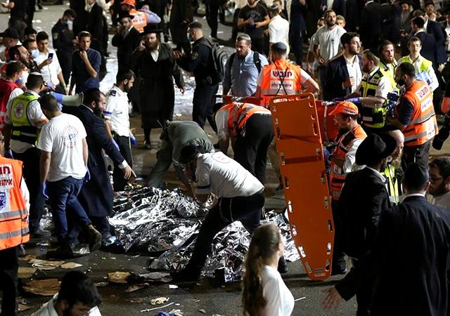 İsrail′de Lag BaOmar kutlamasında izdiham: 44 kişi öldü