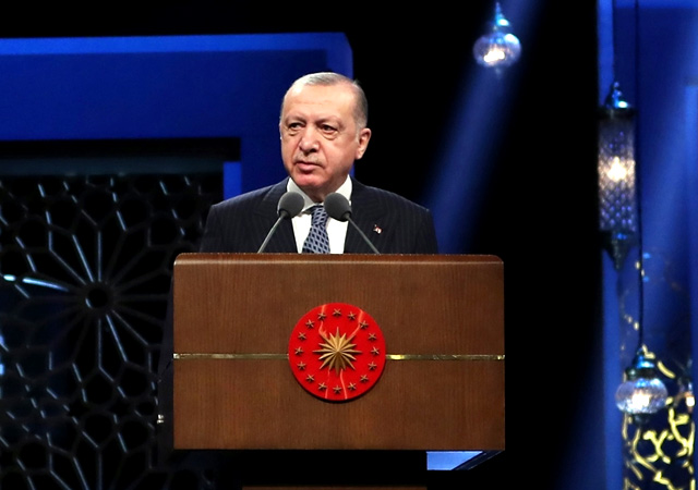Erdoğan: İslam düşmanlığı virüs kadar tehlikeli
