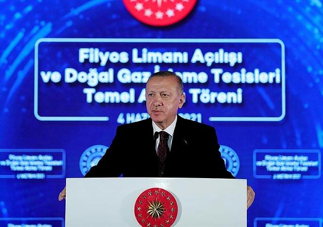 Erdoğan yeni müjdeyi açıkladı! 135 milyar metreküplük yeni doğalgaz keşfi