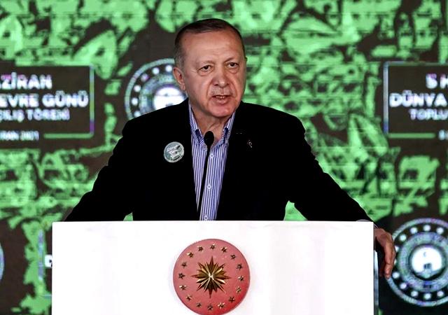 Erdoğan: Çevre bizim işimiz, yeşil bizim işimiz