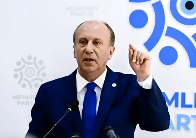 Muharrem İnce'den CHP'ye sert tepki: Siz iktidar olsanız milleti perişan edersiniz