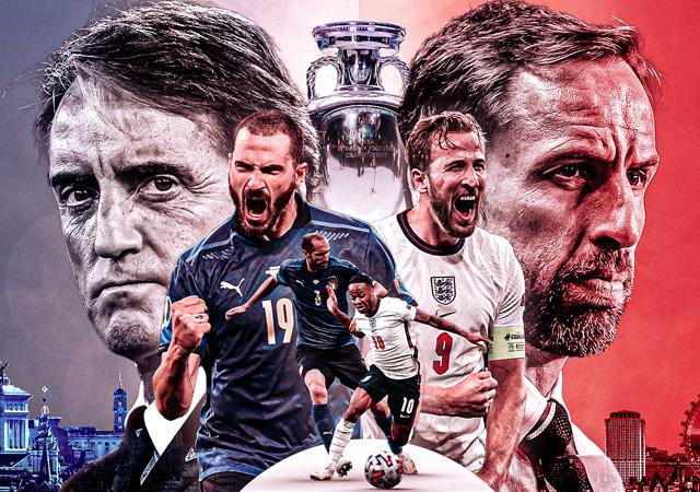 EURO 2020'de final zamanı! İngiltere-İtalya maçının muhtemel 11'leri