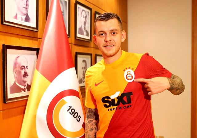 Cicaldau Galatasaray'da