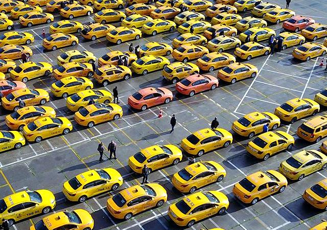 İstanbul'a 1000 yeni taksi geliyor