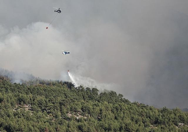 Bakan Pakdemirli: 38 ilde 163 yangın çıktı, 152 tanesi söndürüldü