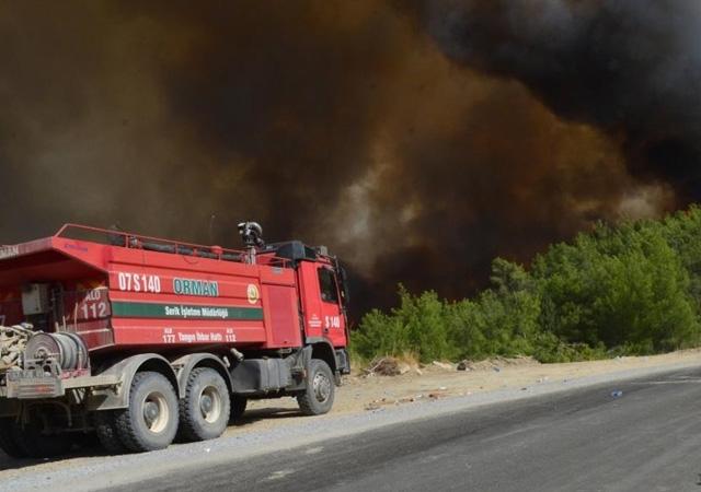 7 ilde 16 yangın devam ediyor