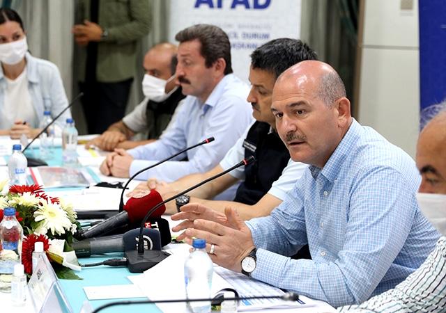 Bakan Çavuşoğlu: Yarın yangını tamamen kontrol altına almayı hedefliyoruz