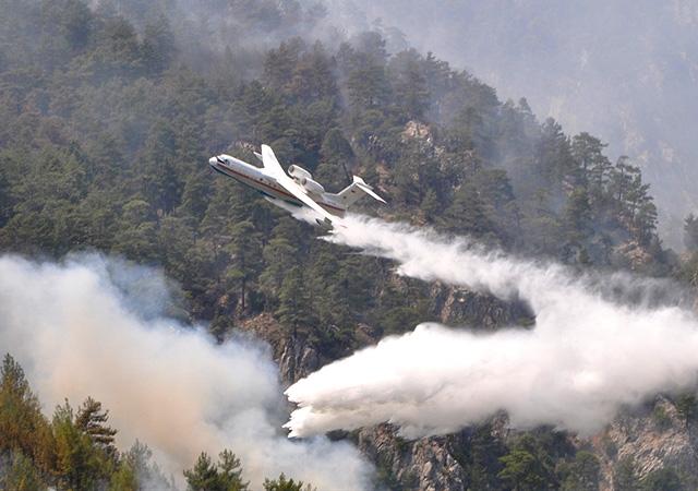 2 ilde 6 noktada orman yangınları devam ediyor