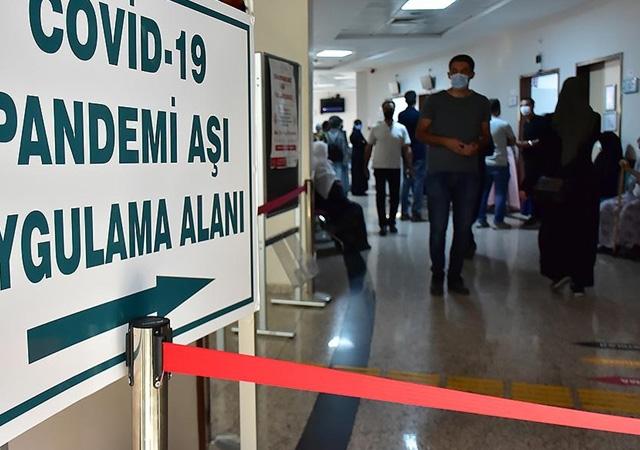 Türkiye'de corona virüsten son 24 saatte 124 can kaybı, 26 bin 597 yeni vaka 10 Ağustos 2021