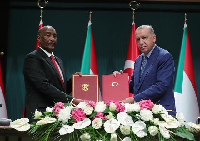 Türkiye ile Sudan arasında farklı alanlarda 6 anlaşma imzalandı