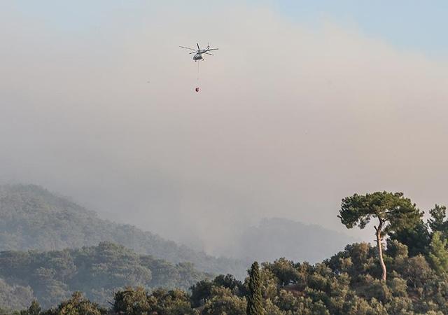 Bakan açıkladı: Kazdağları'ndaki yangın kontrol altında