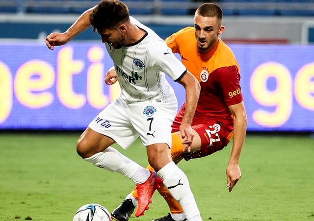 Galatasaray üstünlüğünü koruyamadı! 2-2