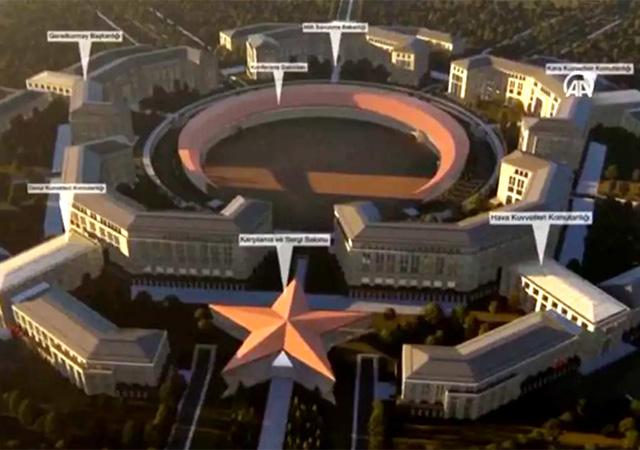 'Türk Pentagonu'nun temeli atıldı
