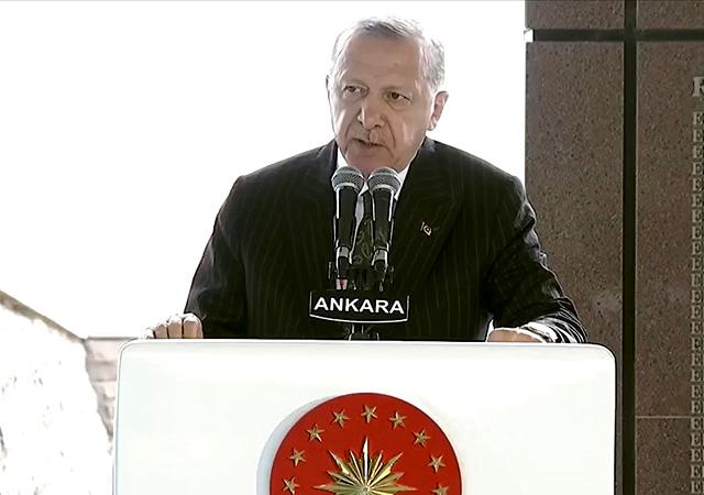 Erdoğan: Milli iradenin gücünü cümle aleme gösterdik