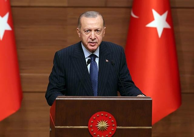 Erdoğan: 2023 Türk milletinin yeniden şahlanışının sembolüdür