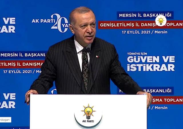 Erdoğan: Z kuşağı da Y kuşağı da burada burada
