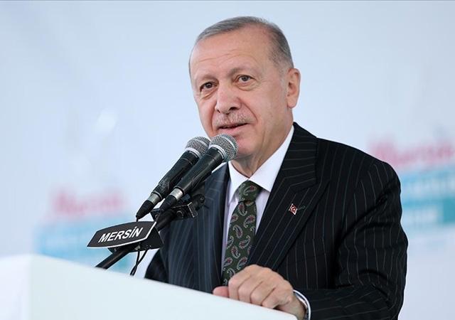 Erdoğan: Akkuyu Nükleer Santrali'nde ilk ünite 2023'te bitiyor