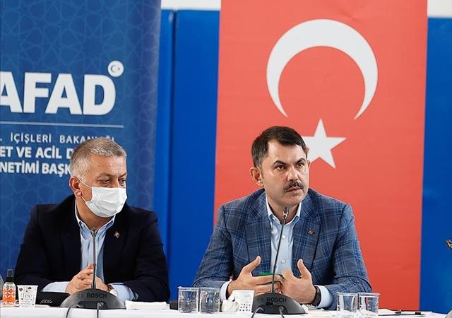 Bakan Kurum bilançoyu açıkladı: Antalya ve Muğla'da 2516 konut ağır hasarlı