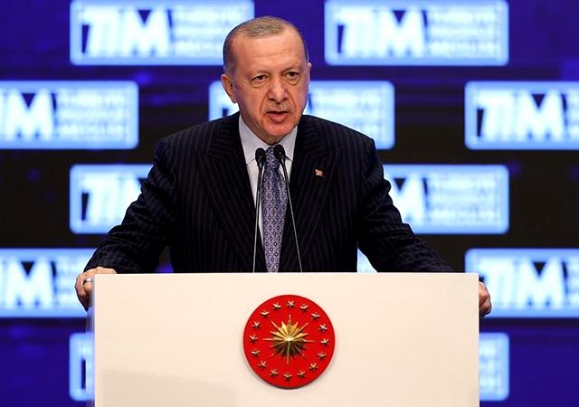 Erdoğan: İhracatımız bu yıl 211 milyar dolarla rekor kırdı