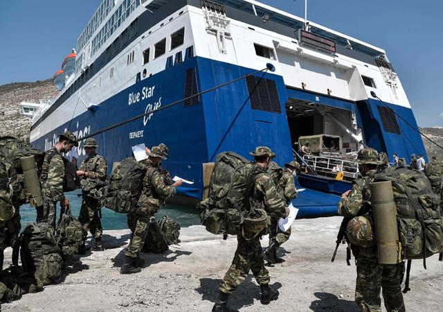 Türkiye'yi kuşatmaya devam ediyor: ABD adalara göz dikti