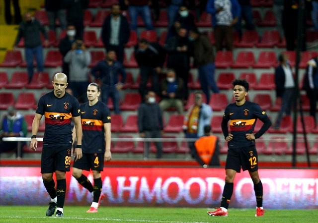 Galatasaray, Kayseri'de yıkıldı! 3-0
