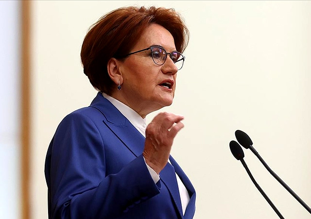 Akşener: Cumhurbaşkanı adayı değilim, başbakanlığa adayım