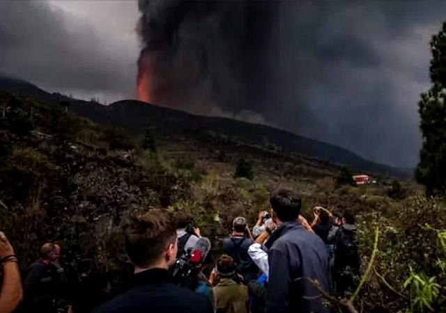La Palma Adası felaket bölgesi ilan edildi! lavların yıkımı sürüyor