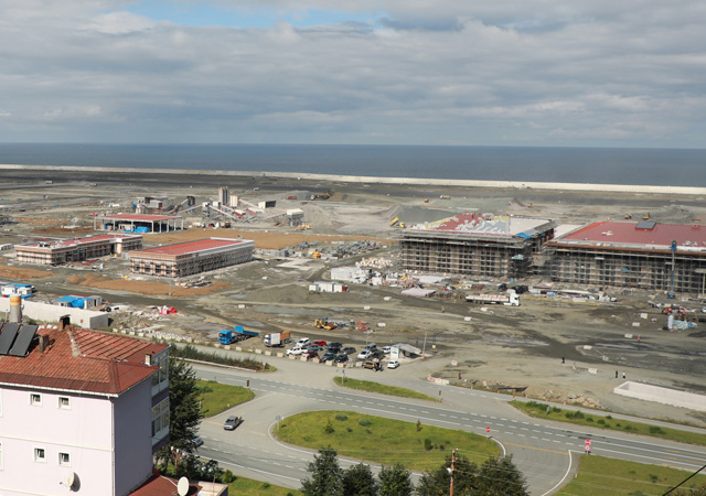 Rize-Artvin Havalimanı açılıyor