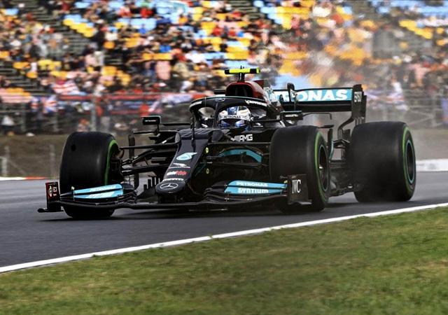 Formula 1'de pole pozisyonu Bottas'ın