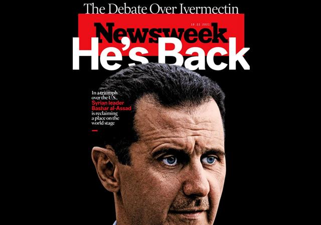 Amerikan dergisi Newsweek: Esad geri dönüyor
