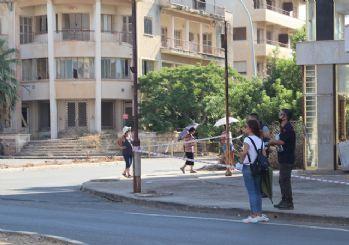 46 yıl sonra bir bölümü açılan Kapalı Maraş'a yoğun ilgi