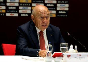 TFF Başkanı Nihat Özdemir: Seyirci için başvuru yaptık