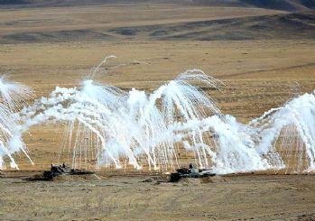 Yeni silahlar ilk kez kullanıldı! TSK'dan nefes kesen Ateş Serbest-2020 tatbikatı